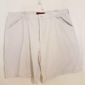 Khaki Safari men's cargo shorts